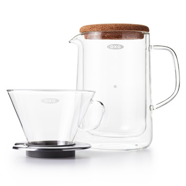 OXO Good Grips Glass Pour Over Set