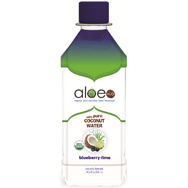 Lily Of The Desert Aloe H2O Blueberry Lime with Coconut Water