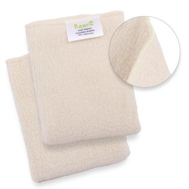 RearZ Organic Sherpa Prefold Diapers One Size