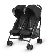UPPAbaby G-Link Double Stroller Jake Black & Carbon