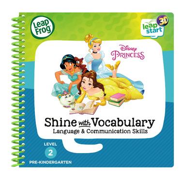 LeapFrog LeapStart 3D Disney Princess Shine Activity Book