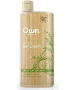 OWN Beauty by Every Man Jack Body Wash Detoxing Green Tea