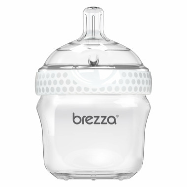 Baby Brezza Small Polypropylene Bottle White