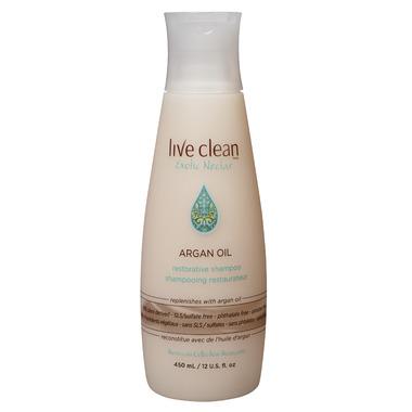 Live Clean Argan Oil Shampoo Limited Edition Bonus Size