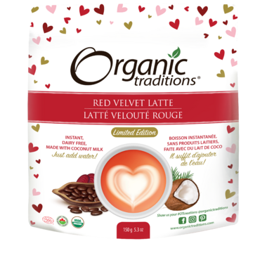 Organic Traditions Limited Edition Red Velvet Latte