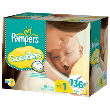 Pampers Swaddlers Value Pack