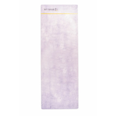 My Shakti Serene Gray Yoga Mat And Towel Combination