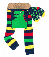 ZOOCCHINI Crawler Legging/Sock Set Devin the Dinosaur