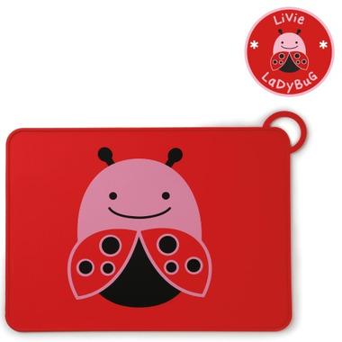 Skip Hop ZOO Fold & Go Placemat Ladybug