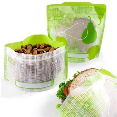 Russbe Reusable Snack/Sandwich Bags Fruit