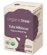 OrganicTree Organic Tulsi Hibiscus Tea