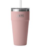YETI Rambler Straw Cup Sandstone Pink