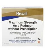 Rexall Maximum Strength Acid Reducer 150mg