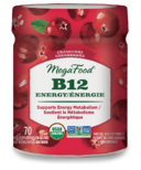 MegaFood Vitamin B12 Energy Cranberry Gummies