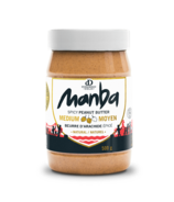 Manba Natural Medium Spicy Peanut Butter