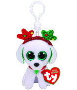 Ty Flippables Sugar The Christmas Sequin Dog with Antlers Clip