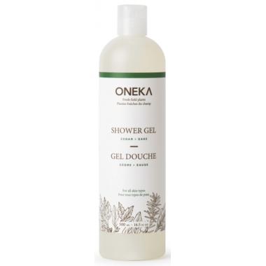 Oneka Cedar & Sage Shower Gel