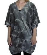 Samyoga Hand Dyed Cocoon Shawl Grey & Navy