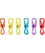 Kikkerland Rainbow Wire Bag Clips