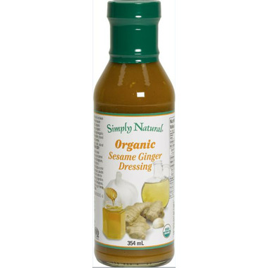 Simply Natural Organic Sesame Ginger Dressing