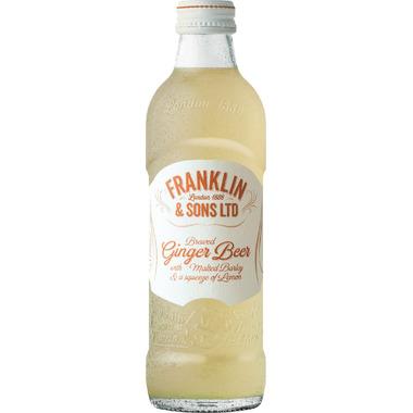 Franklin & Sons Brewed Ginger Beer with Malted Barley & Lemon Soda