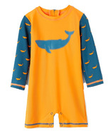 Hatley One Piece Rashguard Tiny Whales