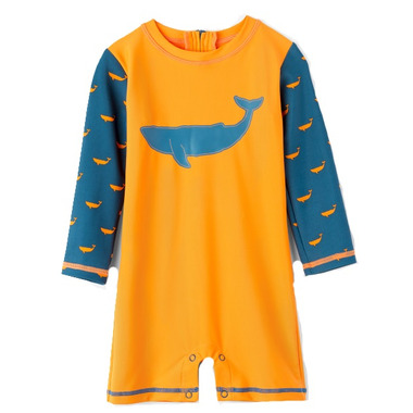 Hatley One Piece Rashguard Tiny Whales