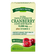 Nature's Truth Ultra Triple Strength Cranberry Concentrate Plus Vitamin C