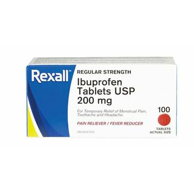 Rexall Ibuprofen Tablets USP 200 mg
