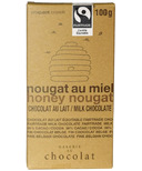 Galerie au Chocolat Honey Nougat Chocolate Bar