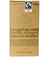 Galerie au Chocolat Honey Nougat Chocolate Bar