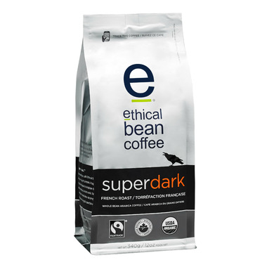 Ethical Bean Coffee Super Dark French Roast