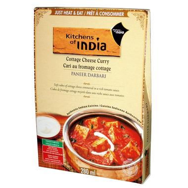 Kitchens Of India Paneer Darbari Cheese Curry