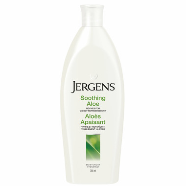 Jergens Soothing Aloe Refreshing Moisturizing Lotion