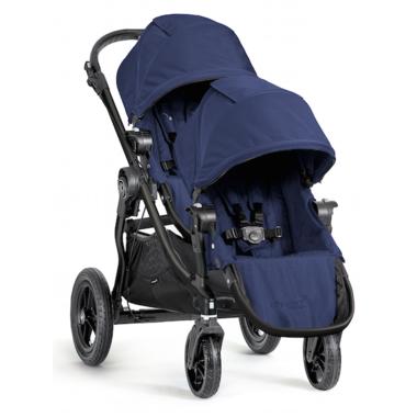 Baby Jogger City Select Black Frame & Second Seat Kit Cobalt