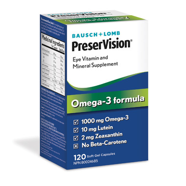 Bausch & Lomb PreserVision Omega 3 Formula