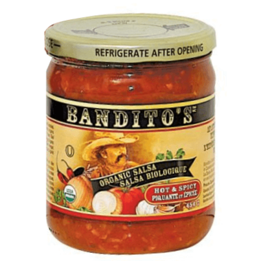 Bandito\'s Organic Salsa Hot & Spicy