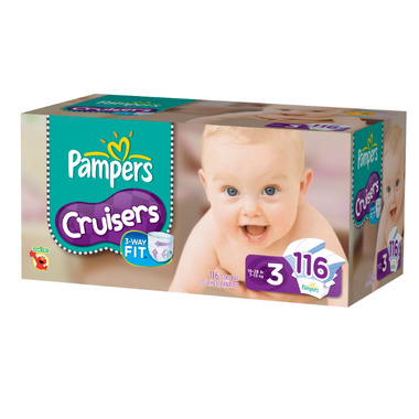 Pampers Cruisers Value Pack