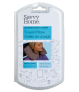 Savvy Home Travel Pillow With Pouch