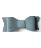 Baby Wisp Mini Latch Wisp Clip Mia Bow Blue Suede