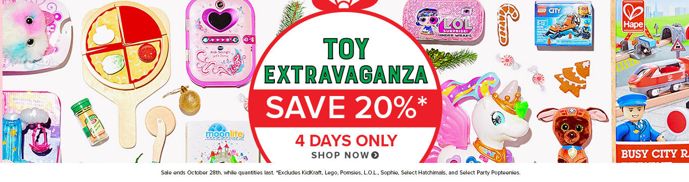 Toy Extravaganza - Save 20%
