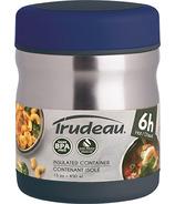 Fuel Peak Stainless Steel Vacuum Food Jar Blueberry