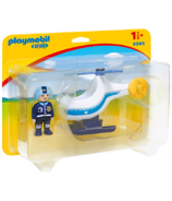 Playmobil 1.2.3 Police Copter