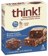 think! High Protein Bar Brownie Crunch Box
