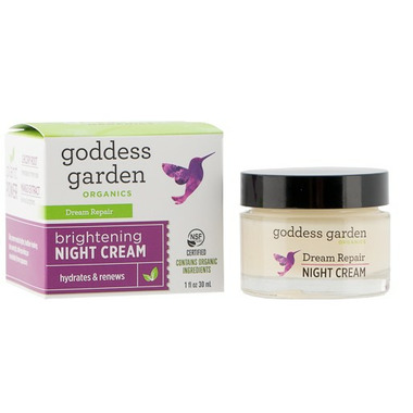 Goddess Garden Brightening Night Cream