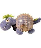 Spunky Pup Lil Squeaker Dino Spikey Ball