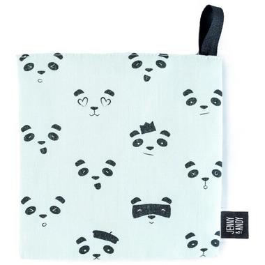 Jenny & Andy Organic Crinkle Toy Panda