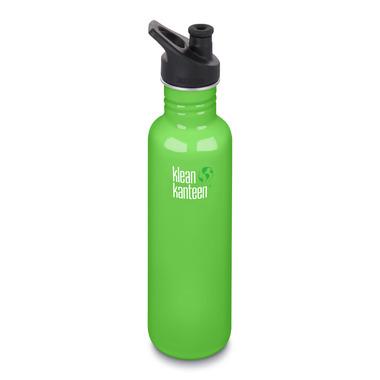 Klean Kanteen Classic Bottle with Sport Cap 3.0 Spring Green