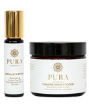 Pura Botanicals Merry & Bright Evening Eye Ritual Gift Set