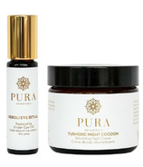 Pura Botanicals Merry & Bright Evening Eye Ritual Gift Set